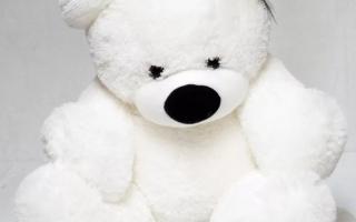 Купить мягкую игрушку большой медведь в Минске