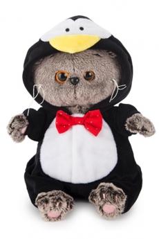 Басик в костюме пингвина