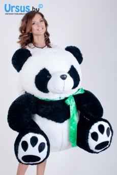 Панда с бантом