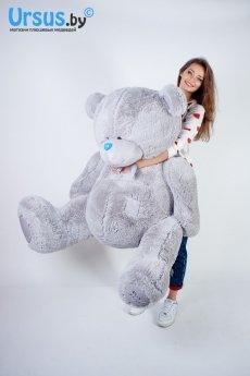 Плюшевый мишка Тедди с лентой